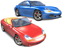 3D Automotive models